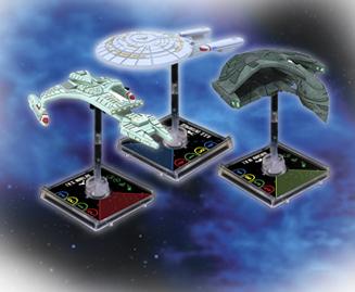 Star Trek Attack Wing ships
